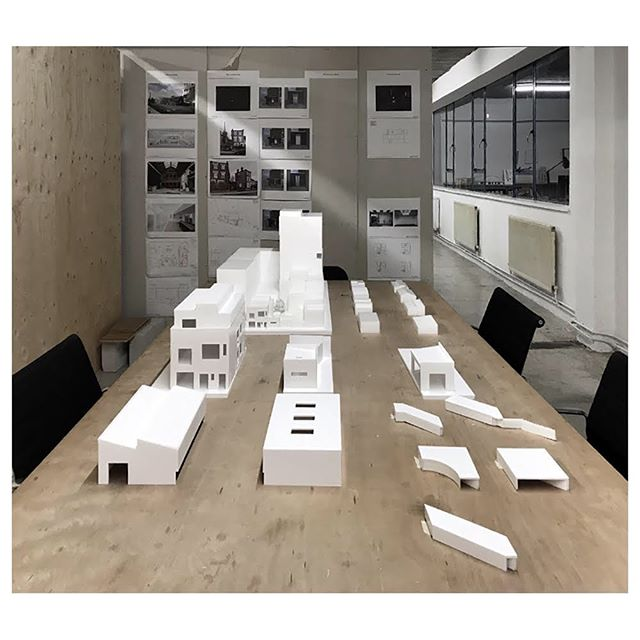 02/19 Planning permission received for a new artist studio above an existing building in East London. Construction will begin summer 2019. #mathesonwhiteley