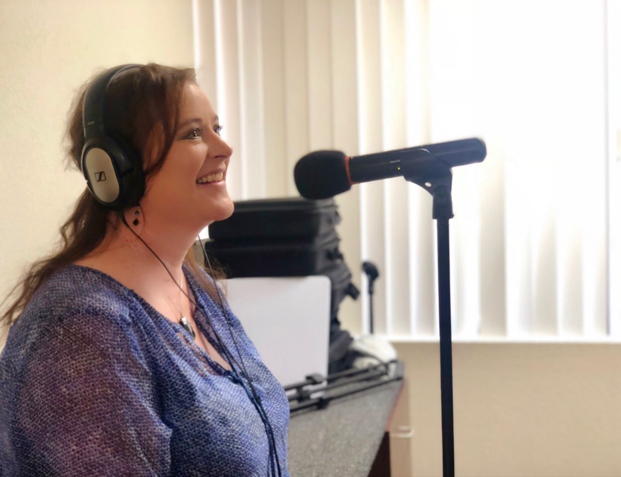 Wellness Practitioner, Rona Recker sharing her wealth of wisdom and humor in the studio with us!