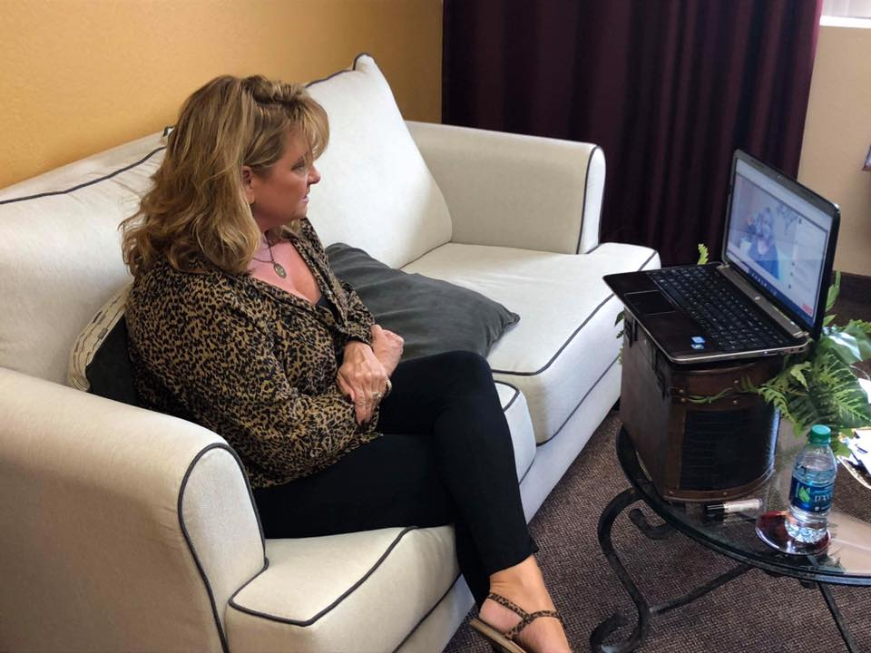 Intuitive Educator, Lynn M. Bunch behind the scenes answering your questions!