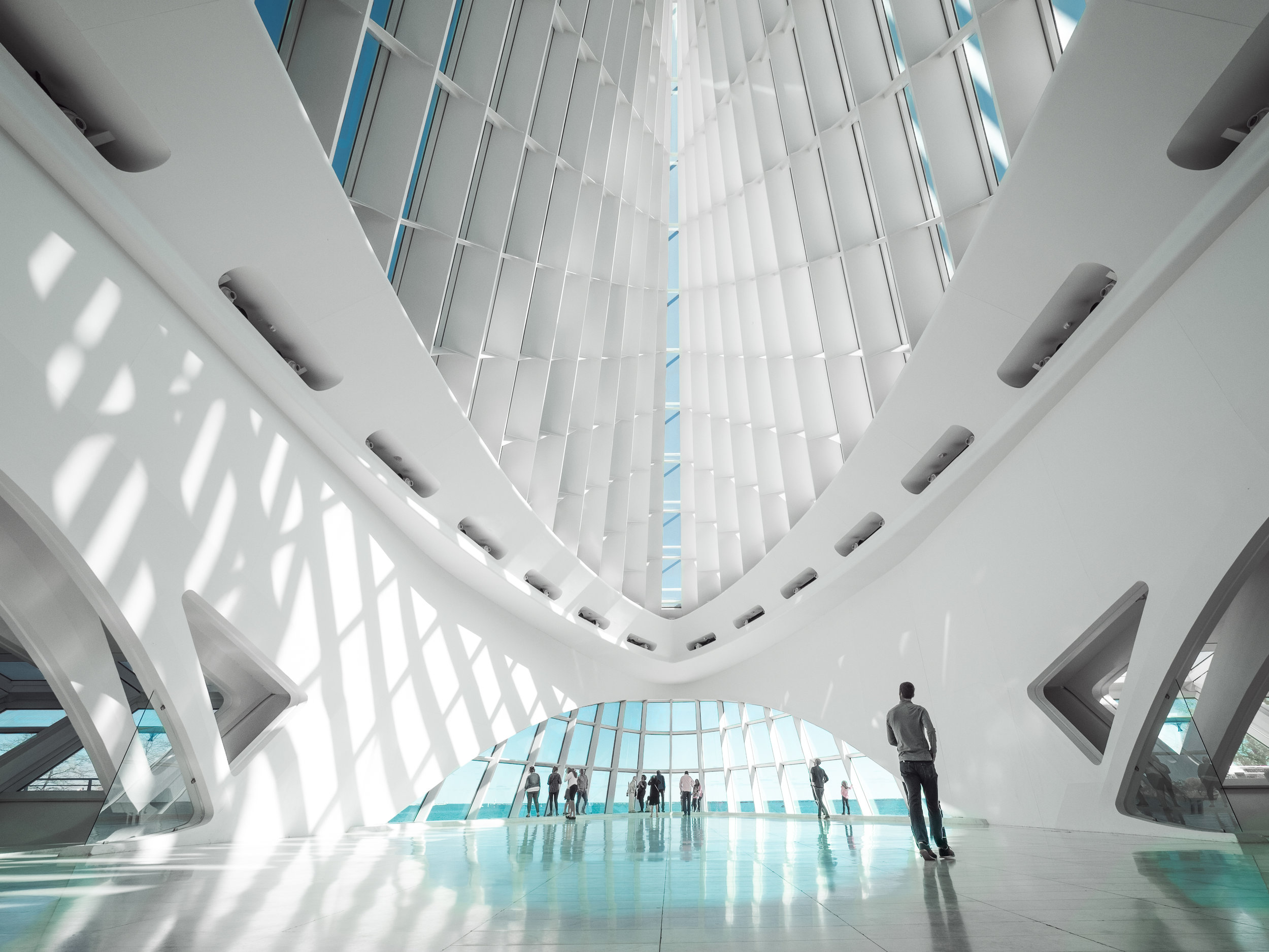 This image of the Milwaukee Art Museum was edited using a beta version of ON1 RAW 2018