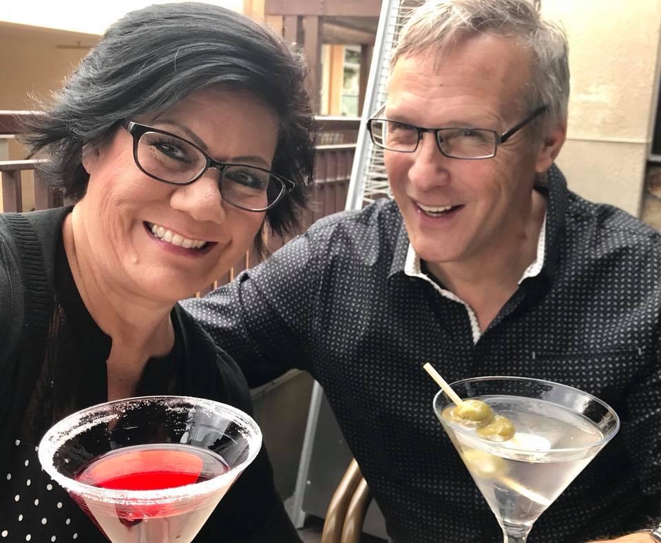 2 martinis. $32.