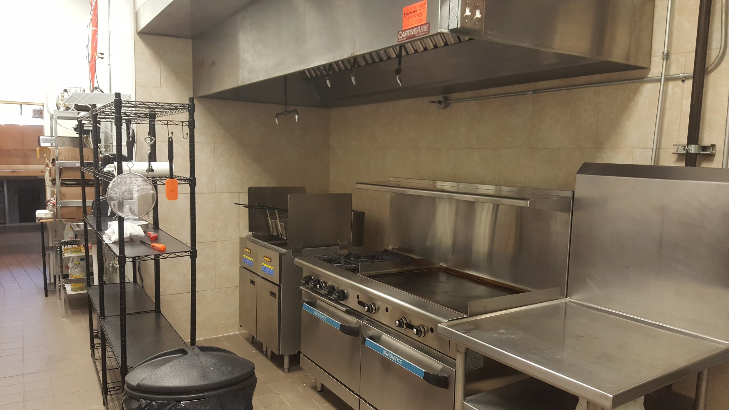 More appliances, under  our installed hood system.