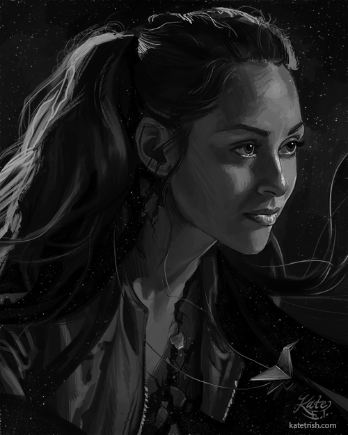 Lindsey Morgan as Raven Reyes (The 100)