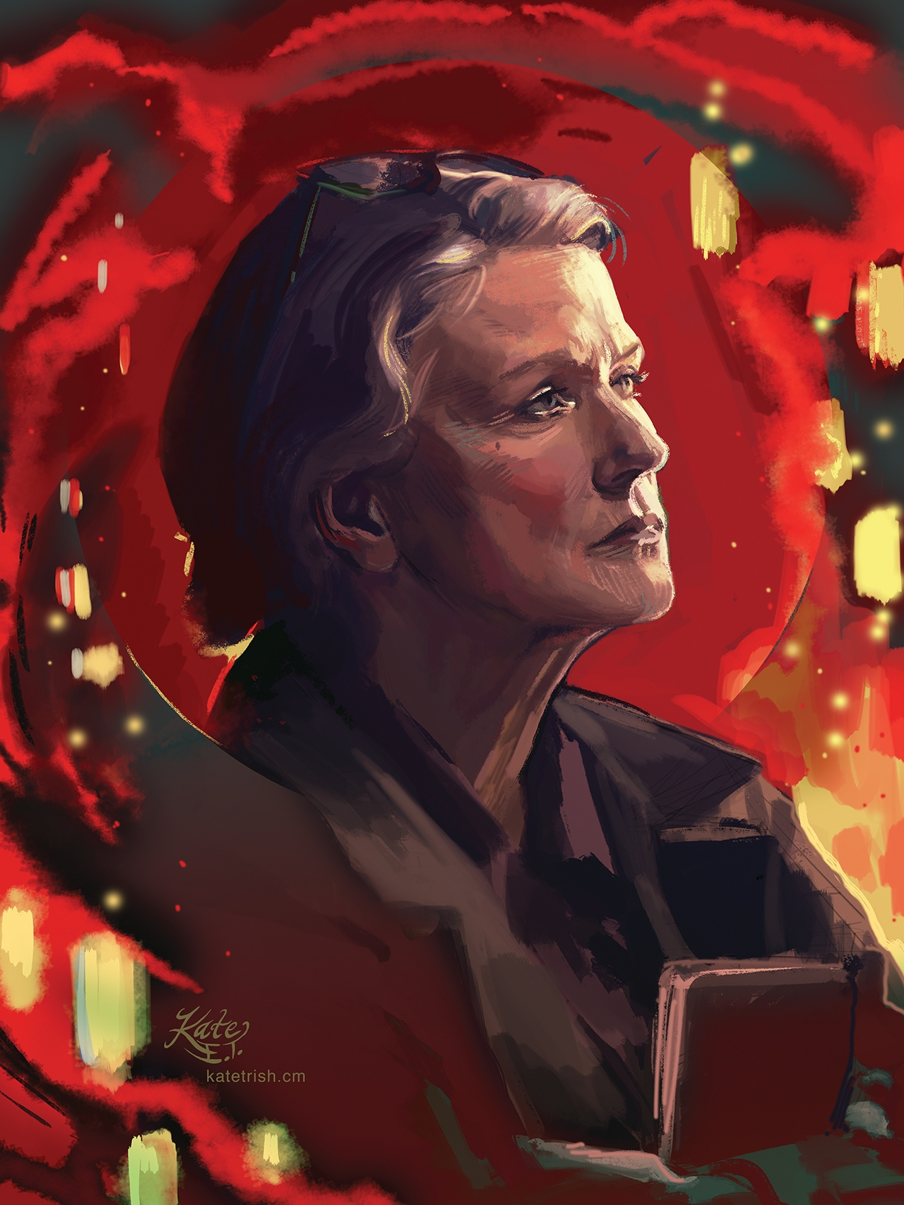 Barbara Sukowa as Dr. Katarina Jones (12 Monkeys)