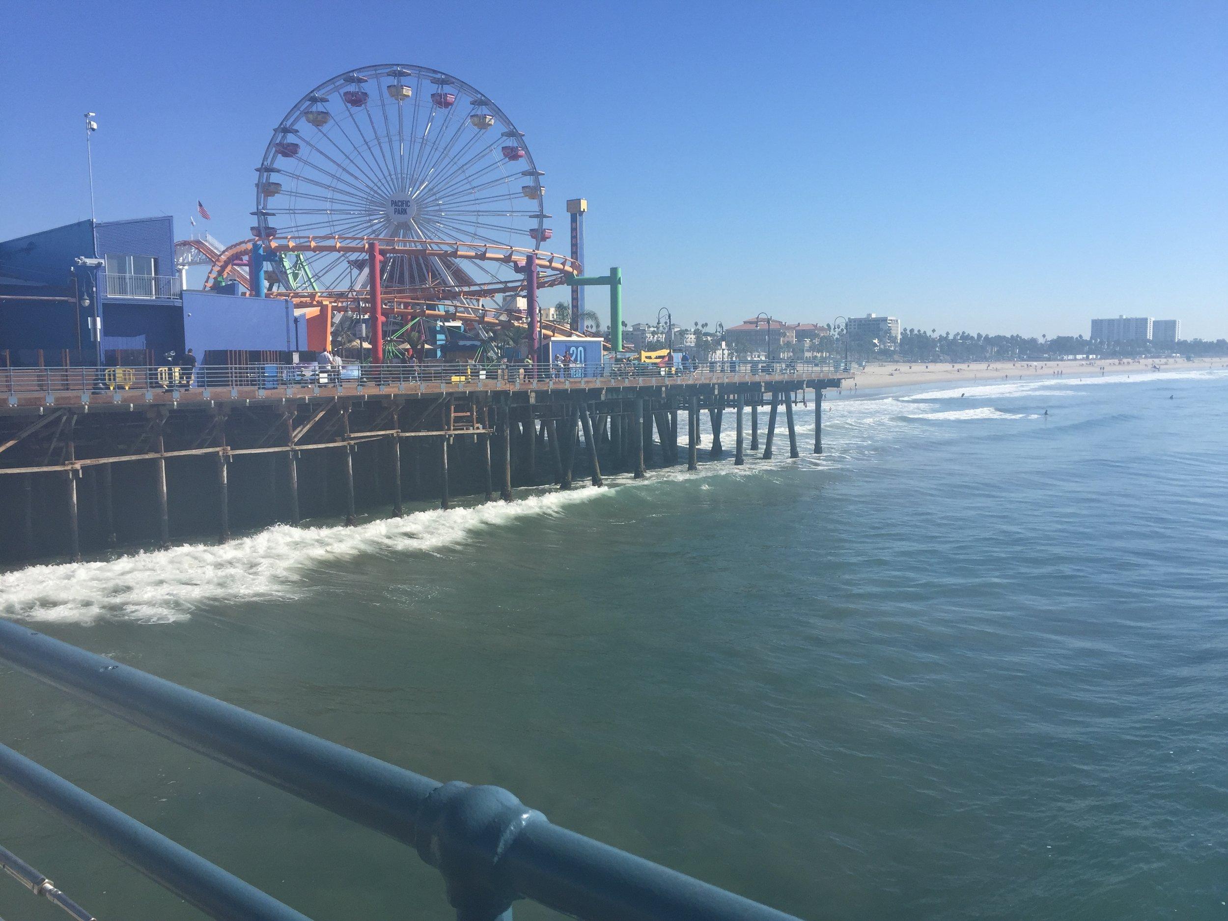 Santa Monica Pier. <3