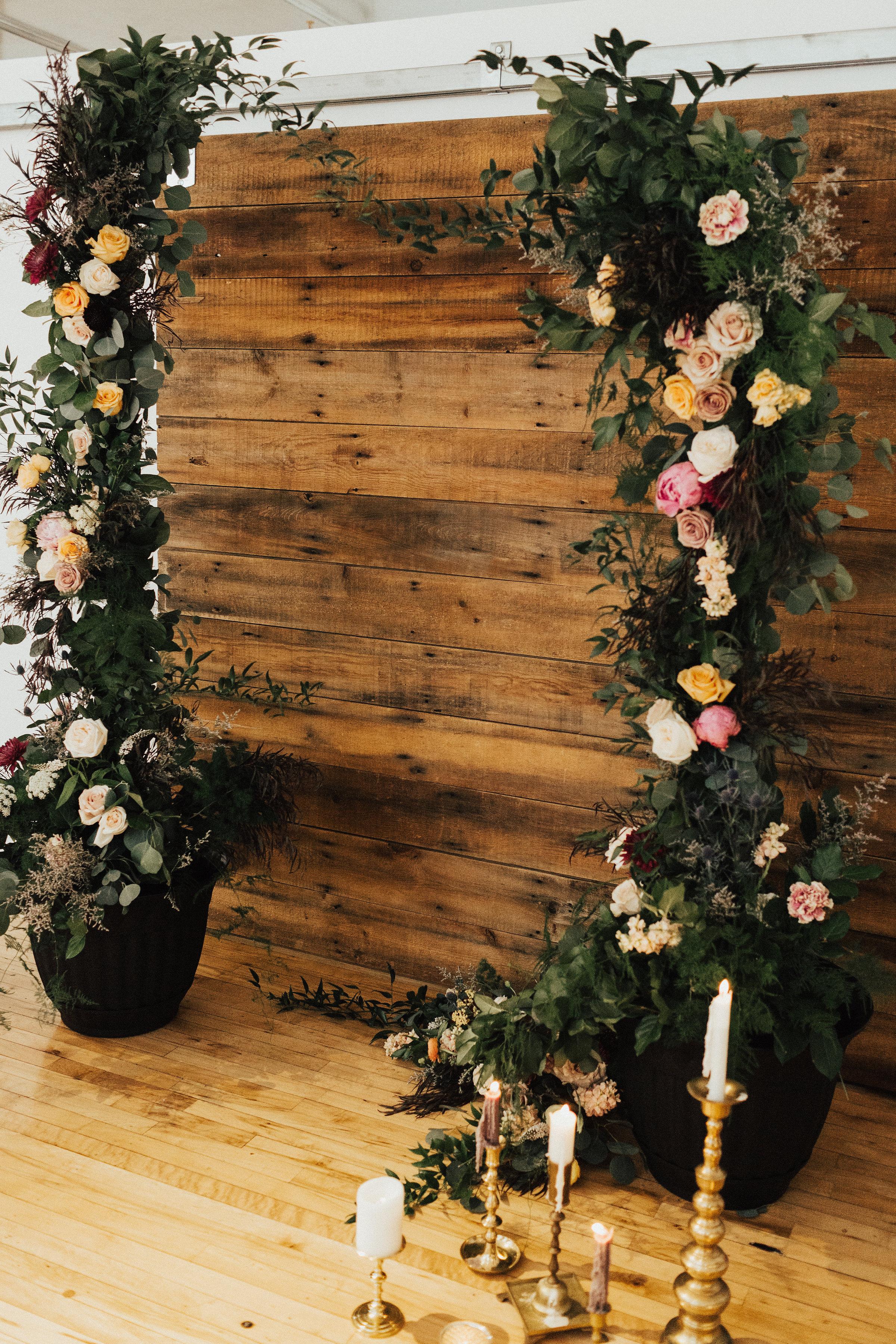 kcmo wedding arches arbors heart + soul kc florist kc wedding florist