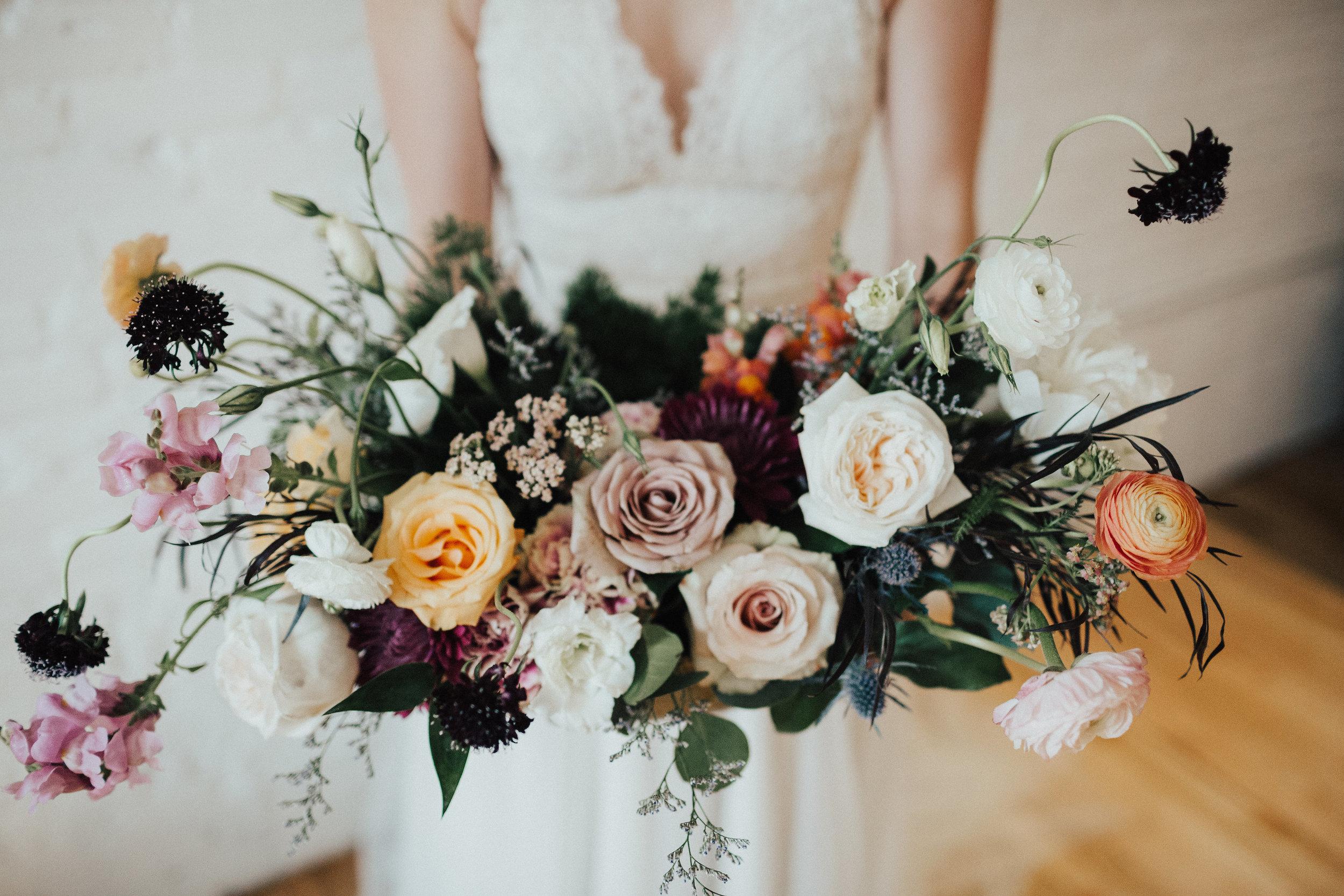 Heart + soul wedding florist KC MO wedding bouquets 17