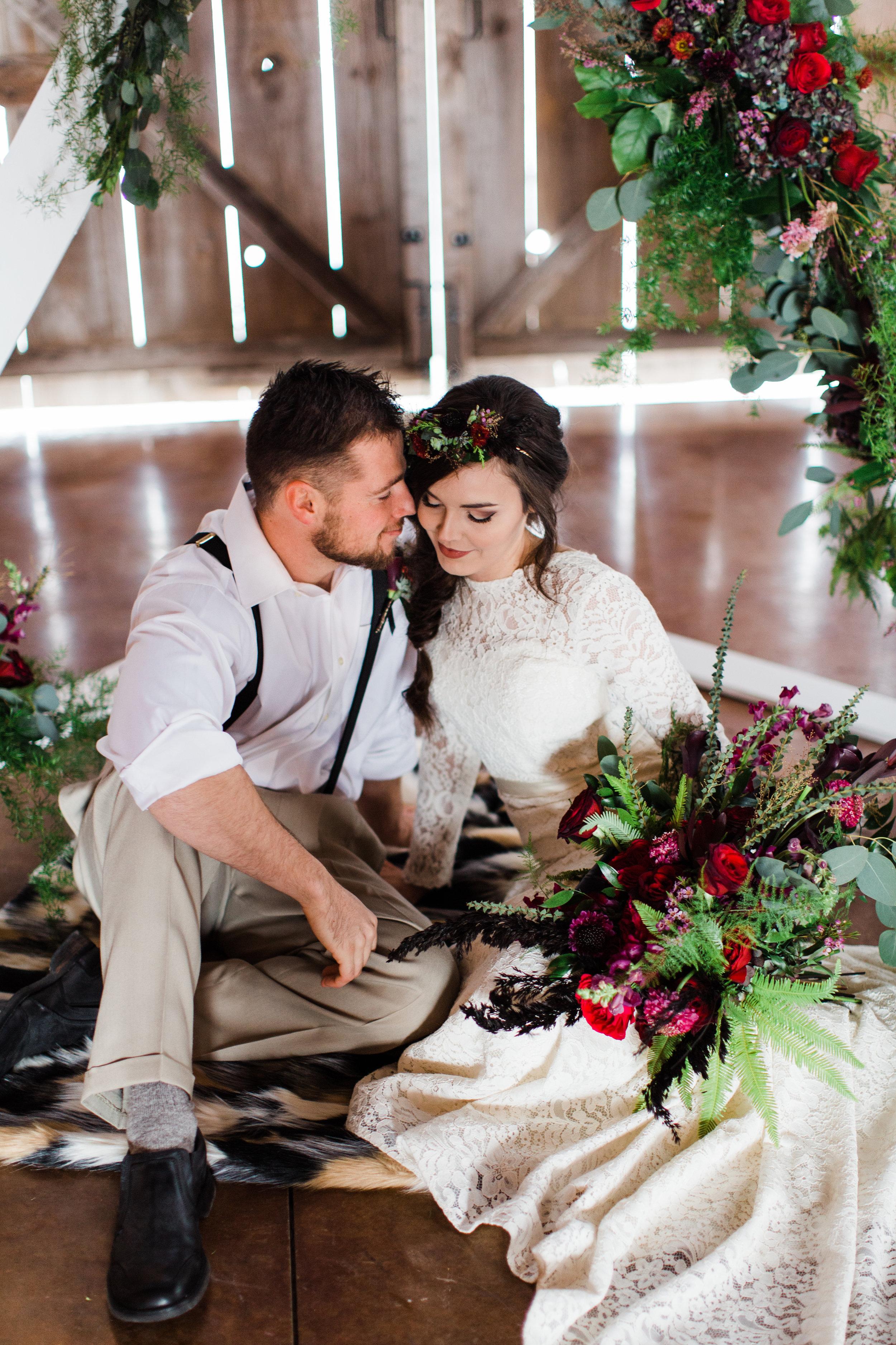Heart + soul Johnson county wedding florist 15