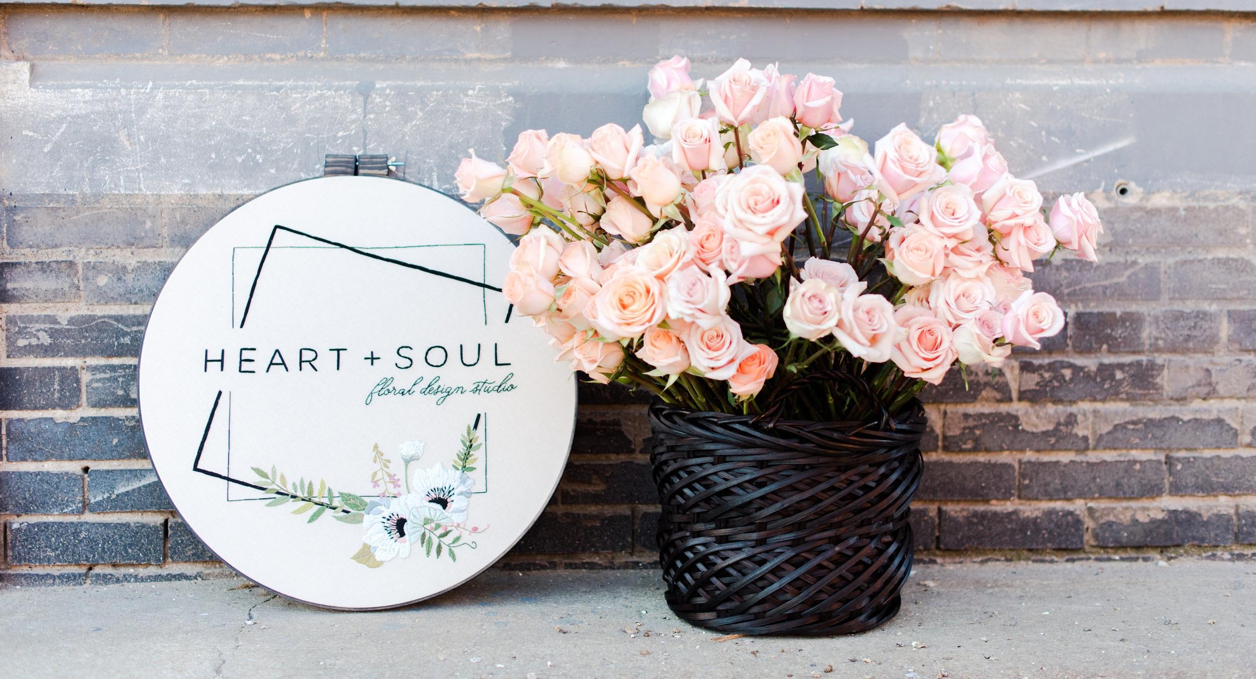 Kansas City wedding florist Heart + Soul