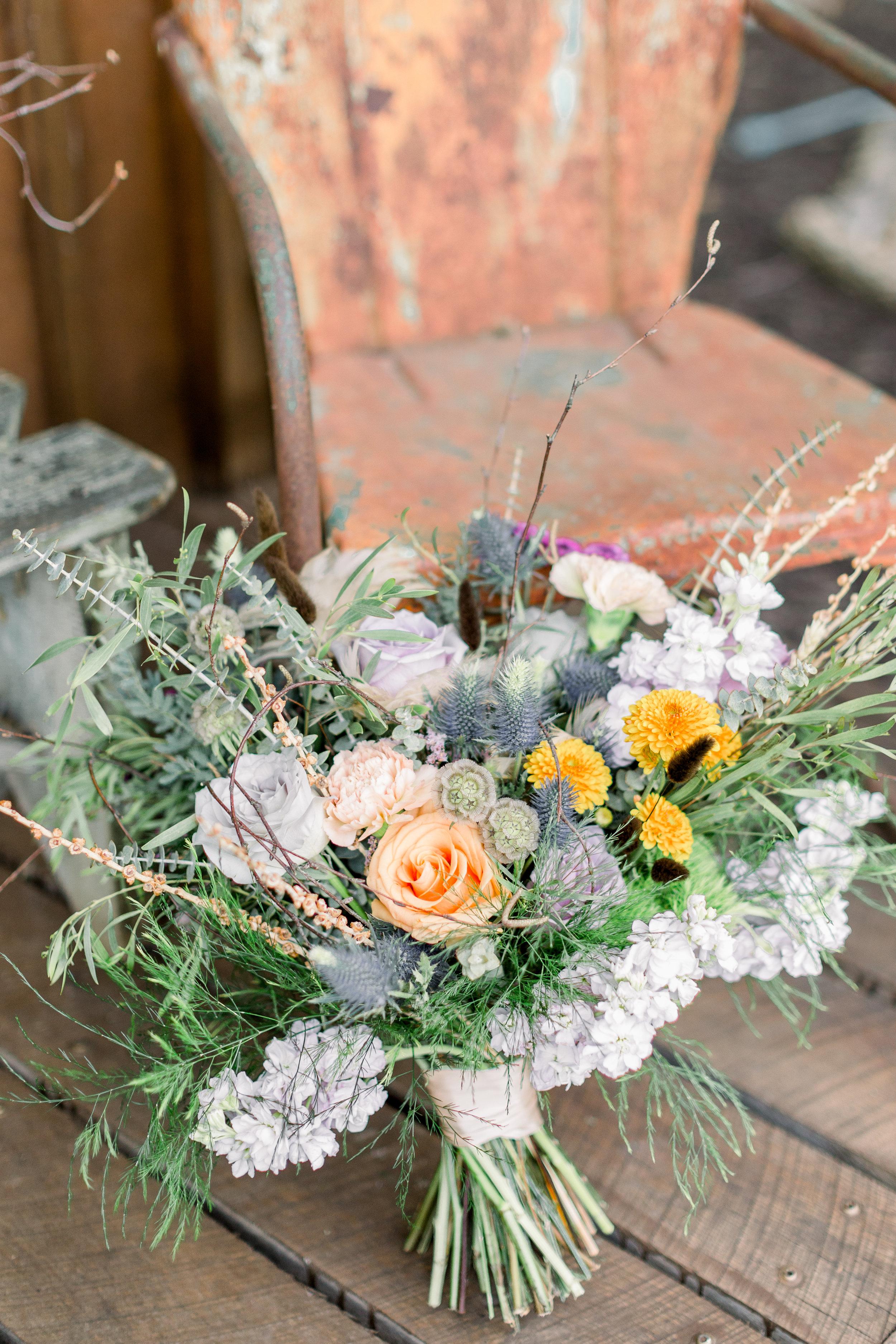 kc wedding florist rustic flowers boho flowers