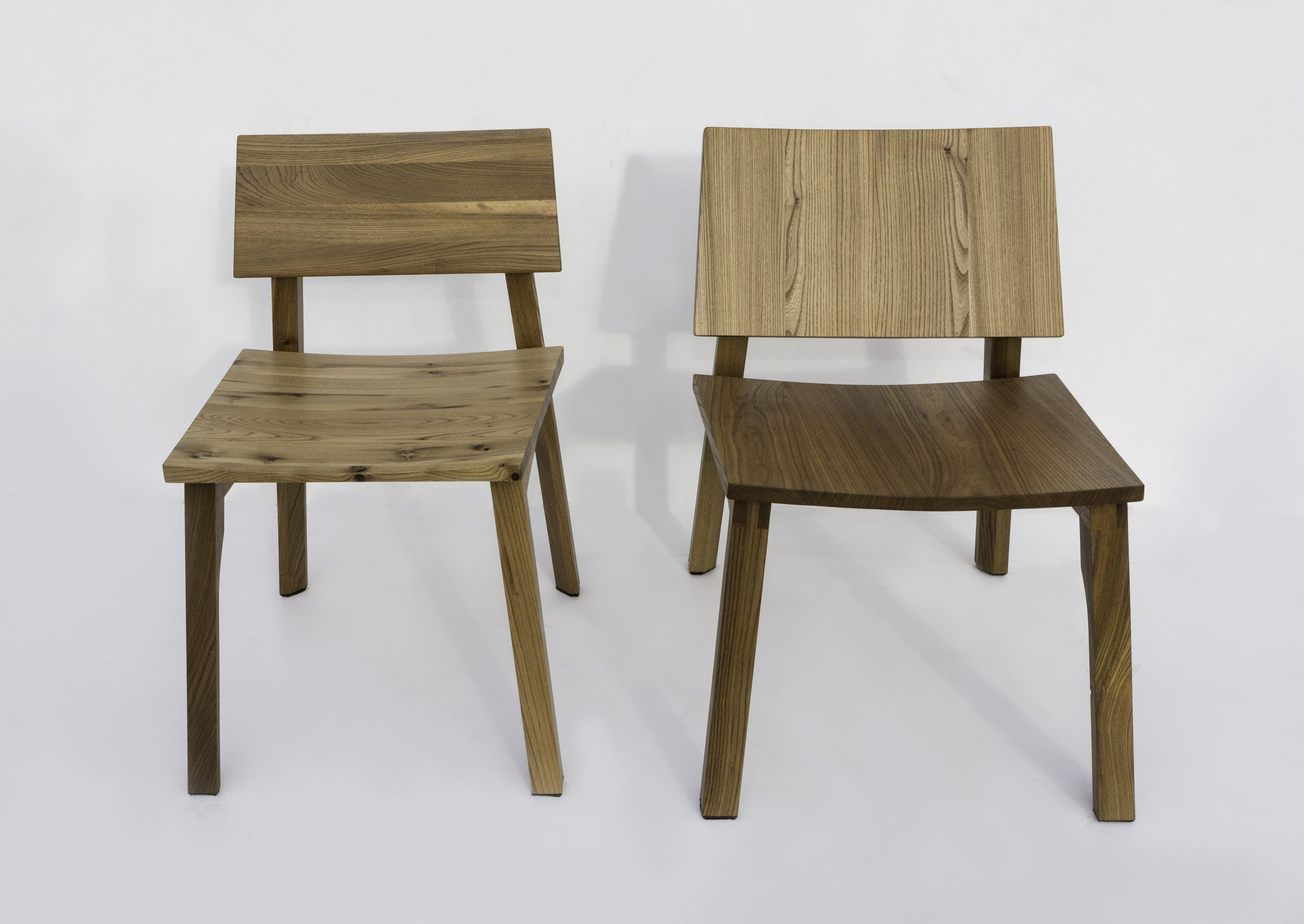 D3 Dining Chair and D3 Lounge Chair in Elm