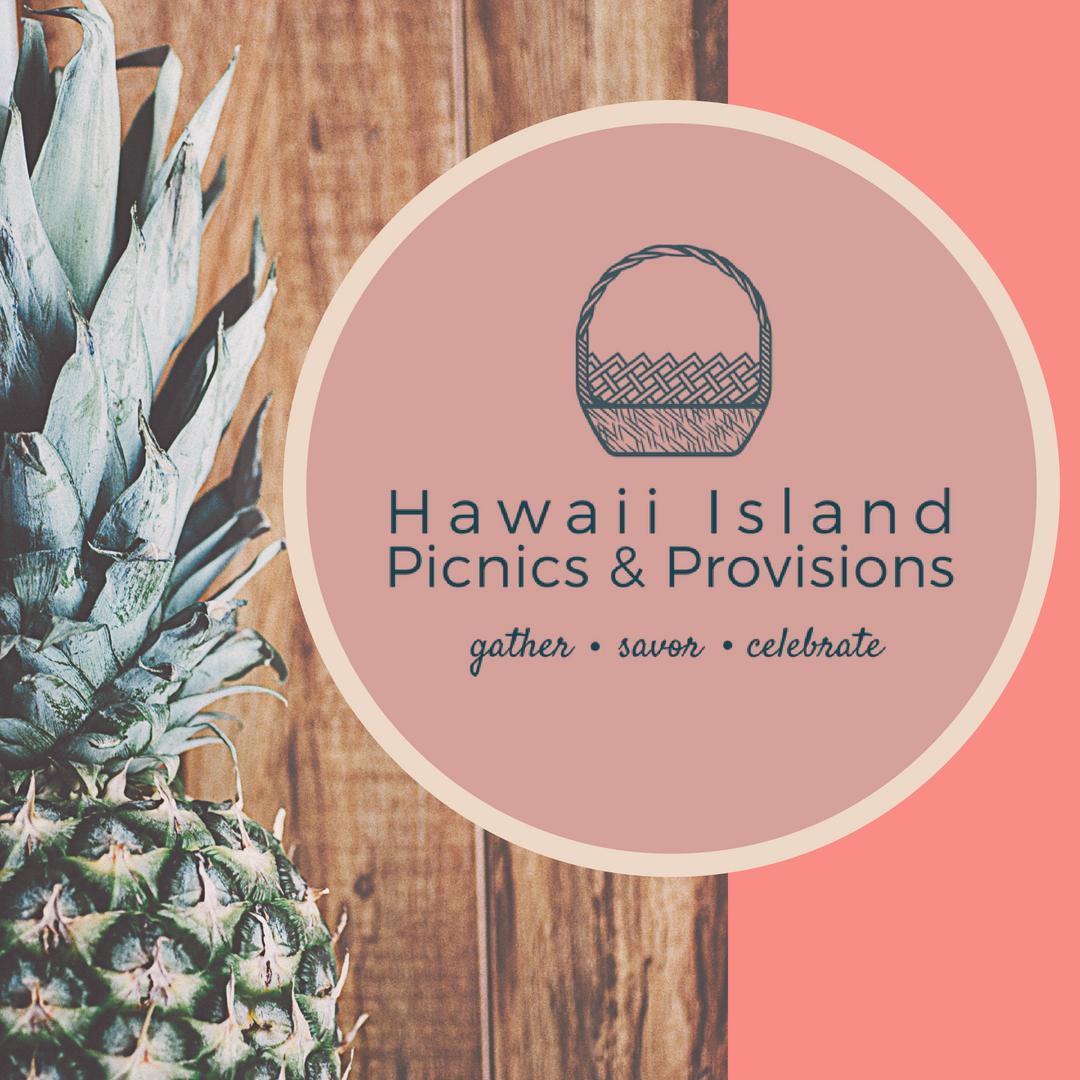 Hawaii Island Picnics and Provisions Logo Green