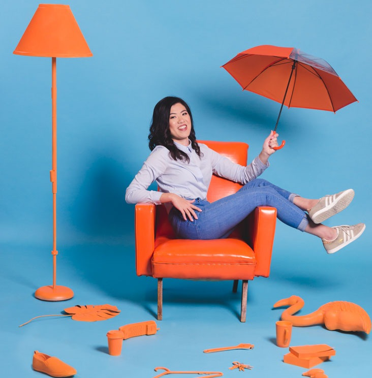 Stand-up comedian Annie Louey performed as one of six acts in the 2018 Melbourne Fringe Festival's Femmo Hysteria comedy gala as well as in her 2018 solo show Before I Forget.