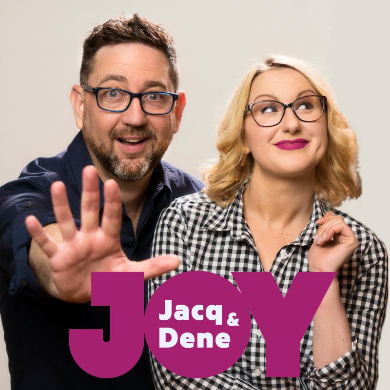 Dene Cicci and Jacqueline Mifsud host the Tuesday drive show on JOY94.9. Photo: Oscar Axel Thorborg