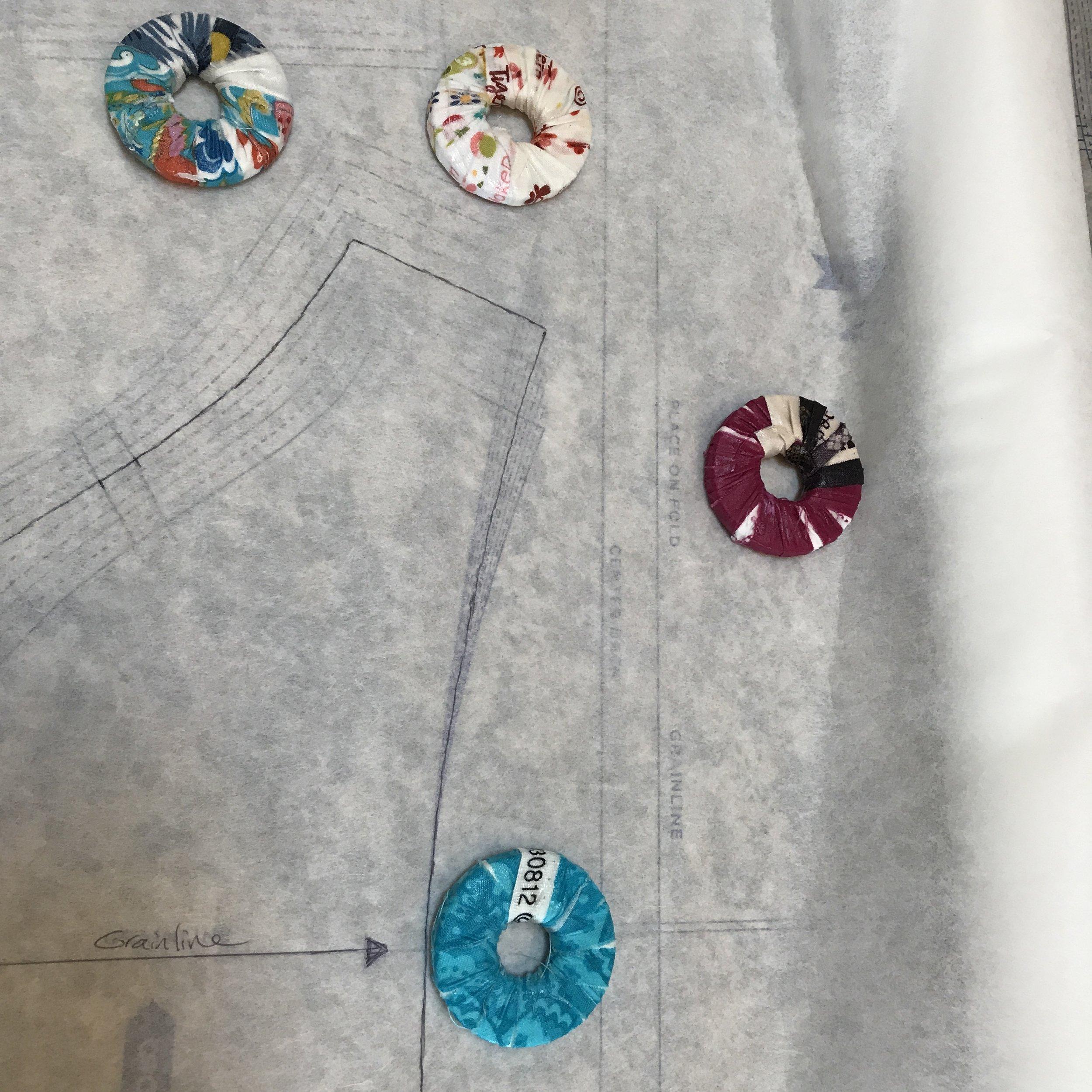 Pretty pattern weights
