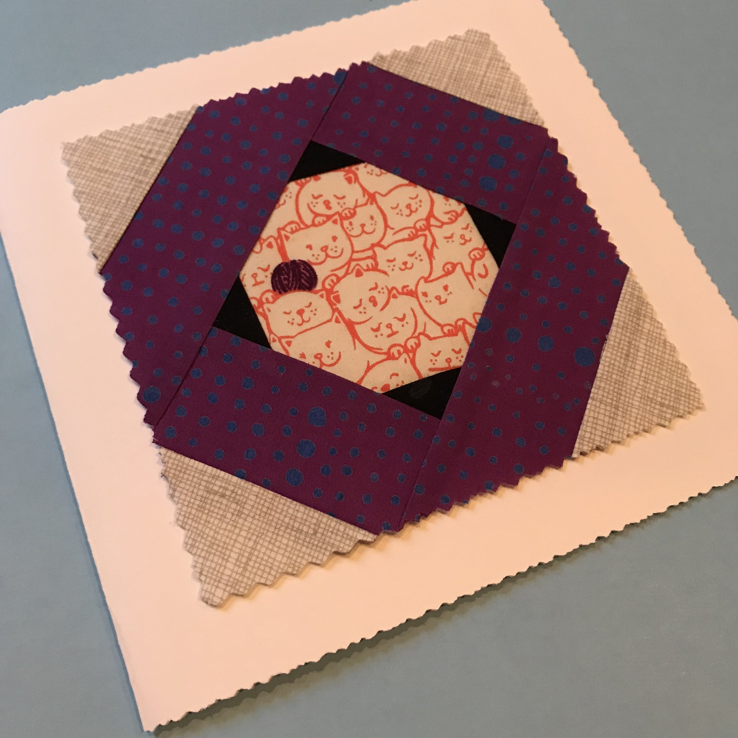 An extra block mades a lovely card