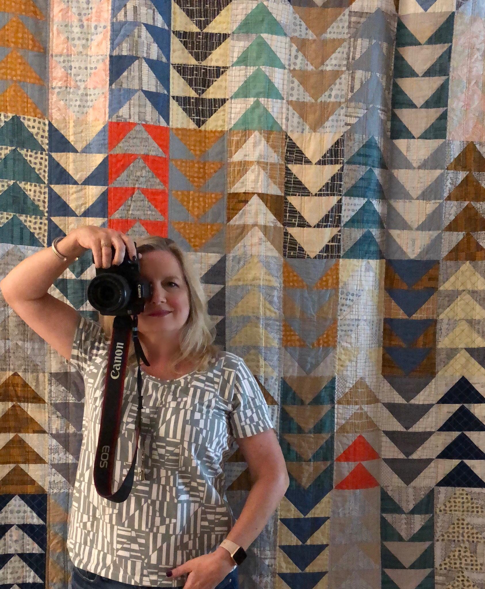 Wonder how my friends know I love Carolyn Friedlander fabrics?!