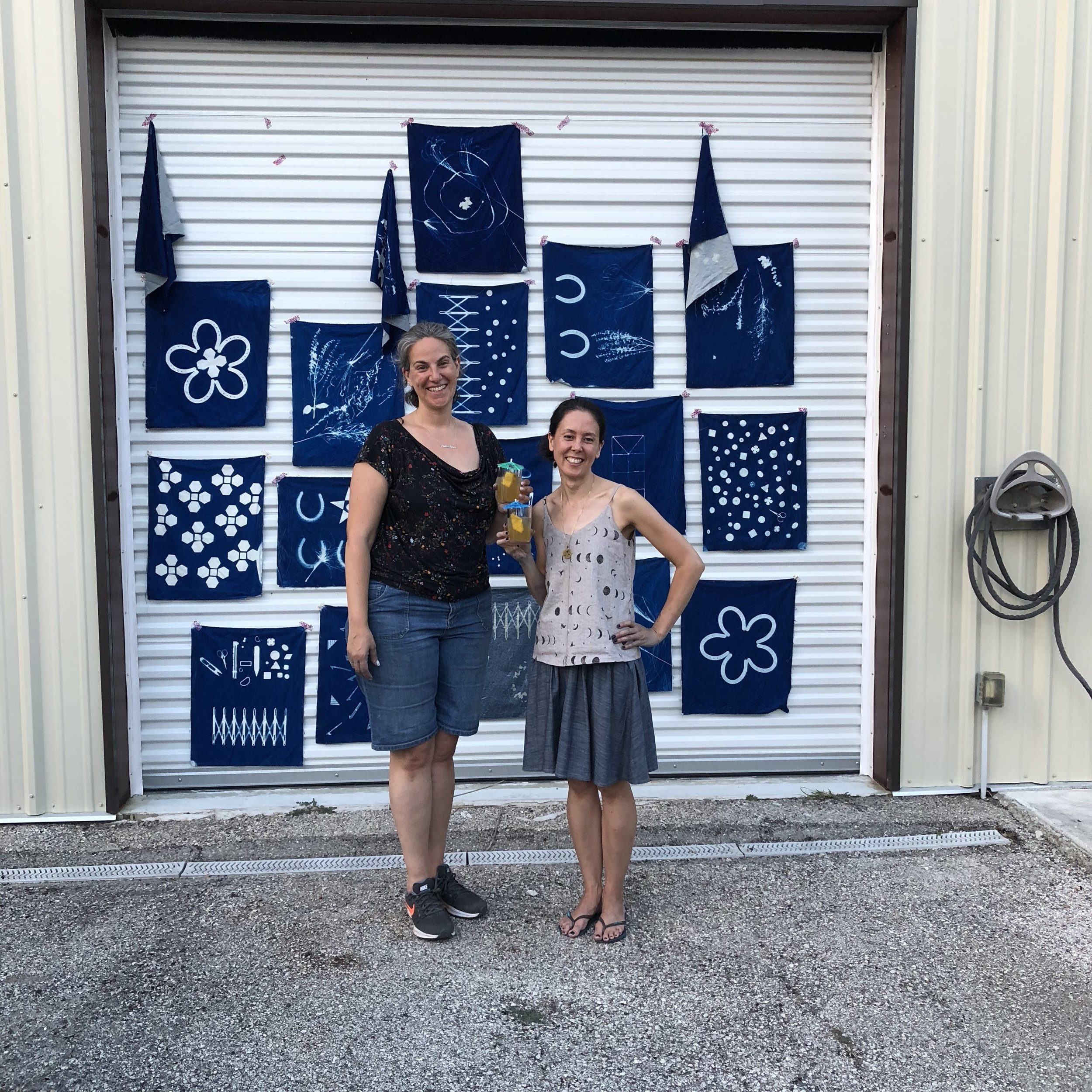 Handmade Getaway authors and awesome peeps Jacqueline and Karyn