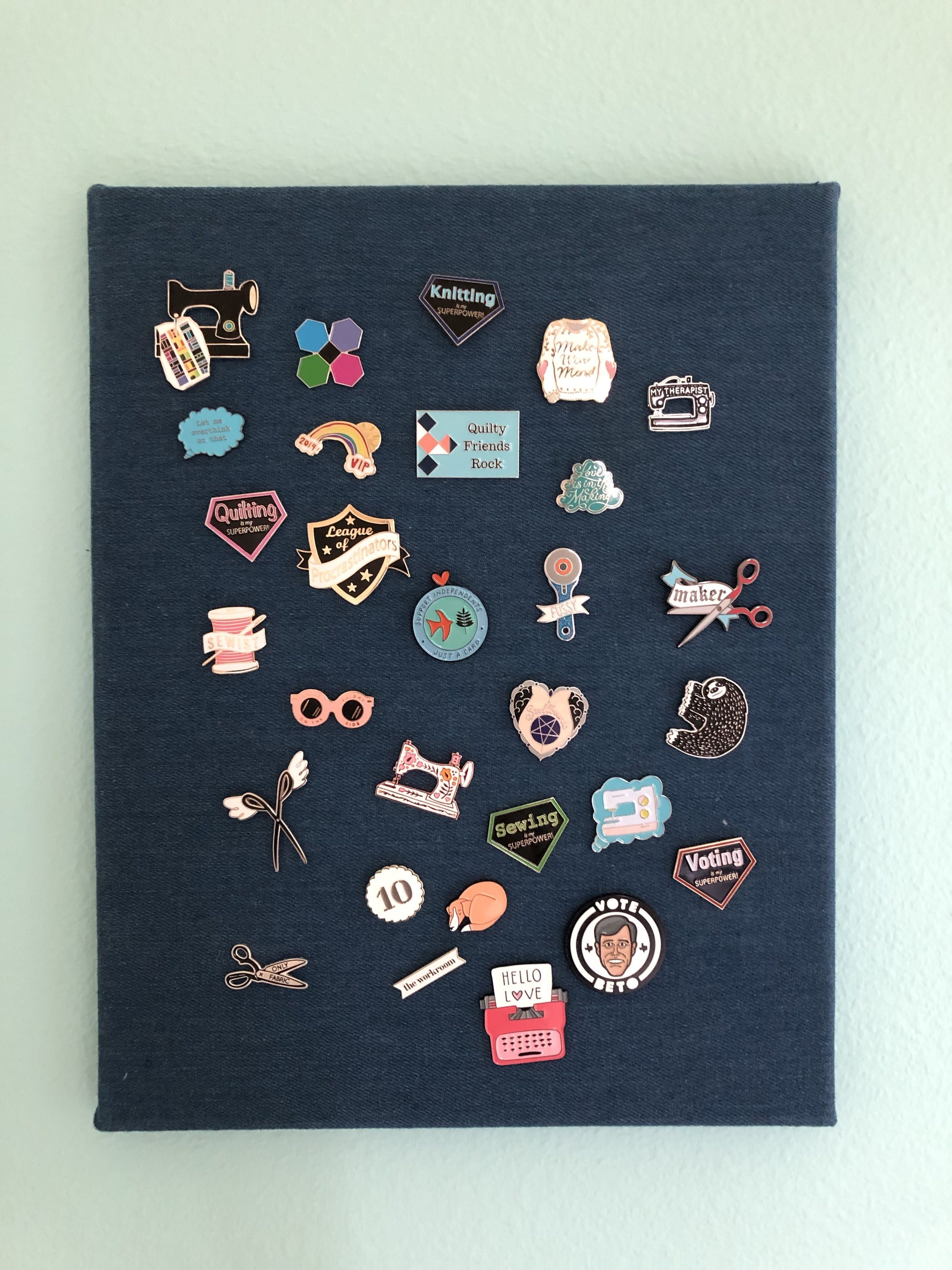Some of my enamel pins…