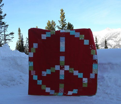 Peace on Earth quilt