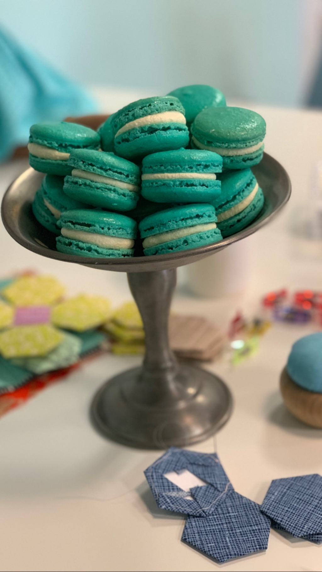 Aren't these macarons beautiful?!