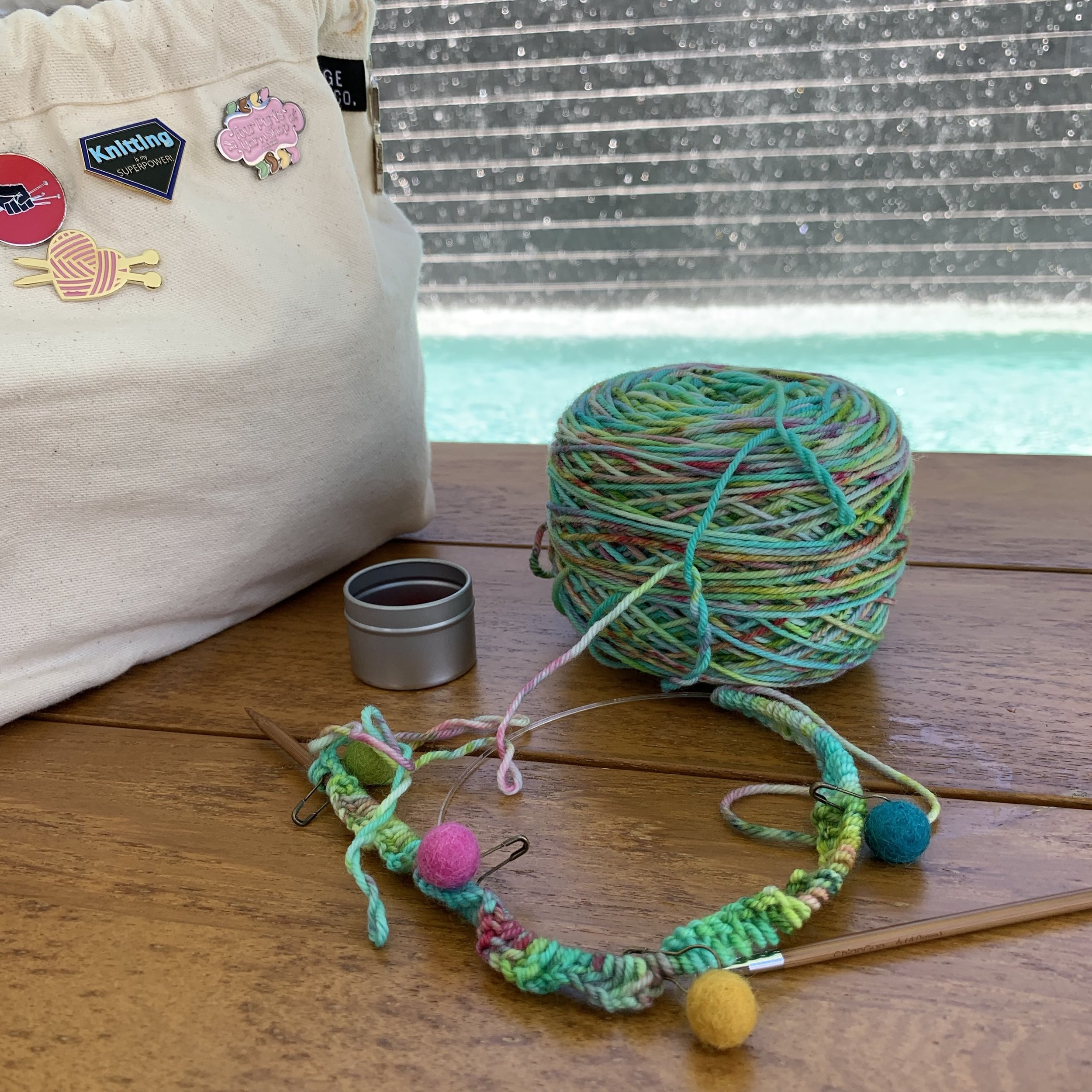 Cabana knitting
