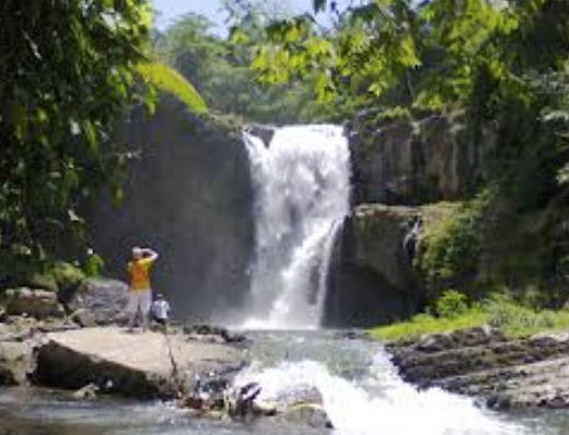 Tegenungan Waterfall - Tegenungan Waterfall is not situated in the mountains, which is quite rare for waterfalls in Bali, but actually in Ubud village. Like many others, it still boasts beautiful lush greenery all around, and the natural springs are perfect for bathing.