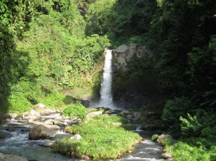 Carat Waterfalls - Here are two waterfalls, a smaller and a larger one, plus a small pool at the bottom which is perfect for swimming. Legend says that the Carat Waterfalls are haunted, and bad luck will be brought upon any visitor who says negative things about the falls.