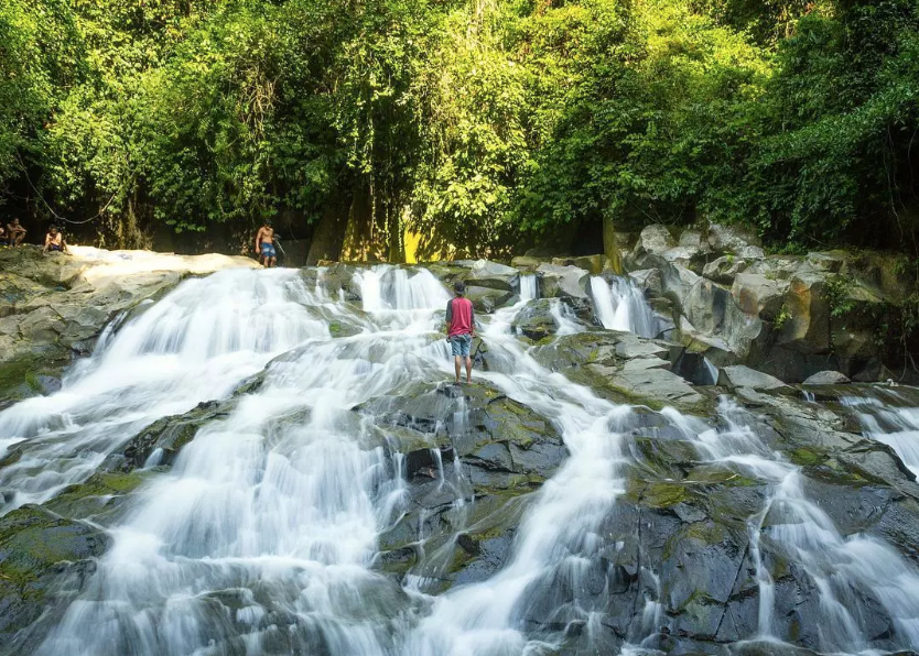 Goa Rang reng - From parking area, you will only need to walk for around 300 meters to find this beautiful waterfall. This place is also perfect for relieving fatigue.