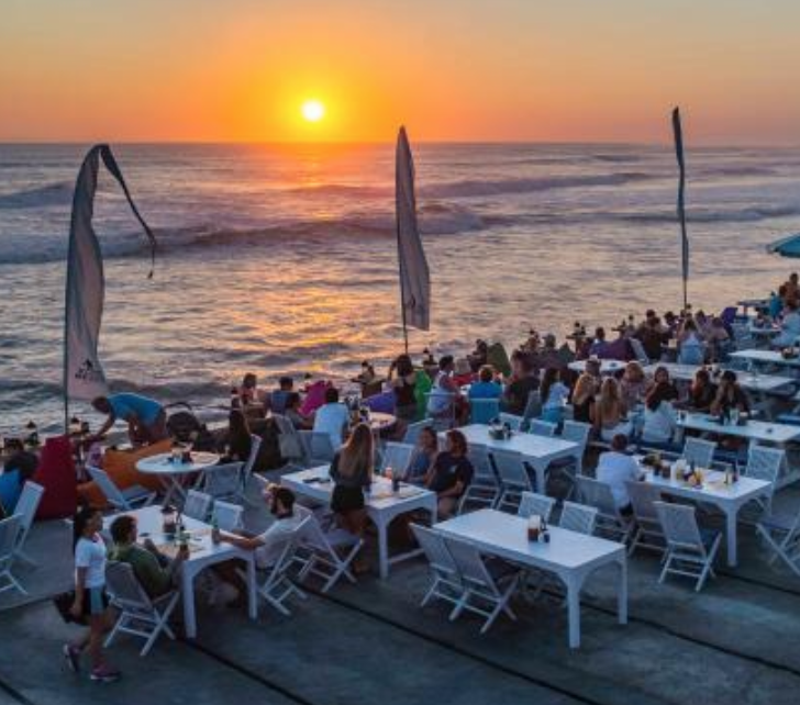 Echo Beach - Echo Beach is one of Bali's most recently christened surf spots. The nickname overshadows its local name 'Pantai Batu Mejan', after a significant Balinese Hindu sea temple on site.