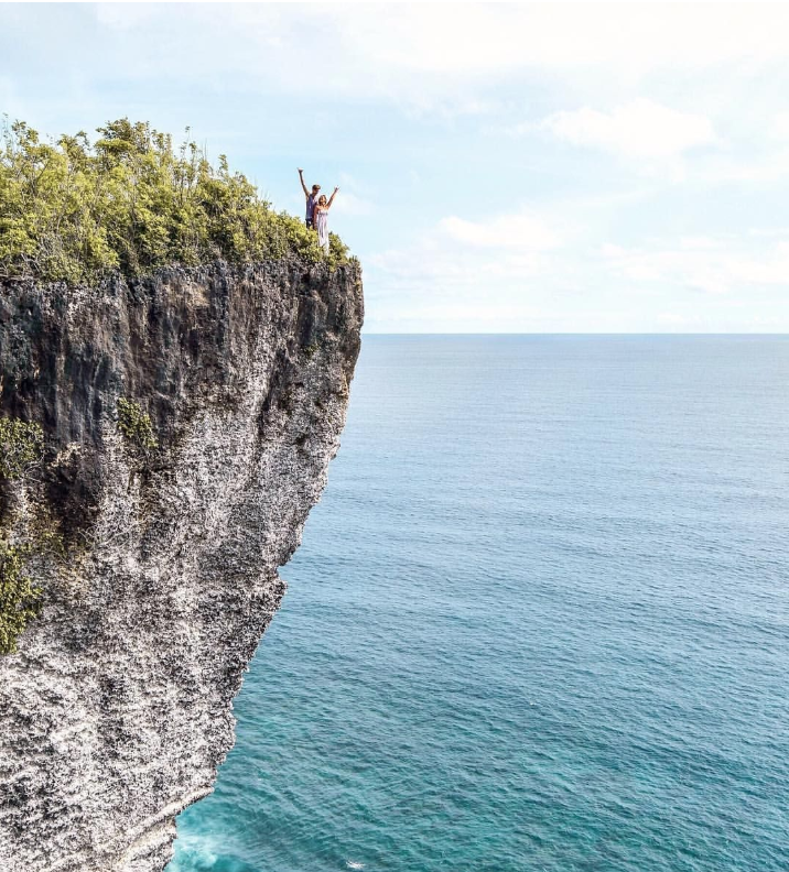 Karang Boma Cliff - Karang Boma Cliff, also known as the Uluwatu Cliff, is the most popular viewpoint in the south of Bali. It's the perfect spot to witness a beautiful Bali sunset!