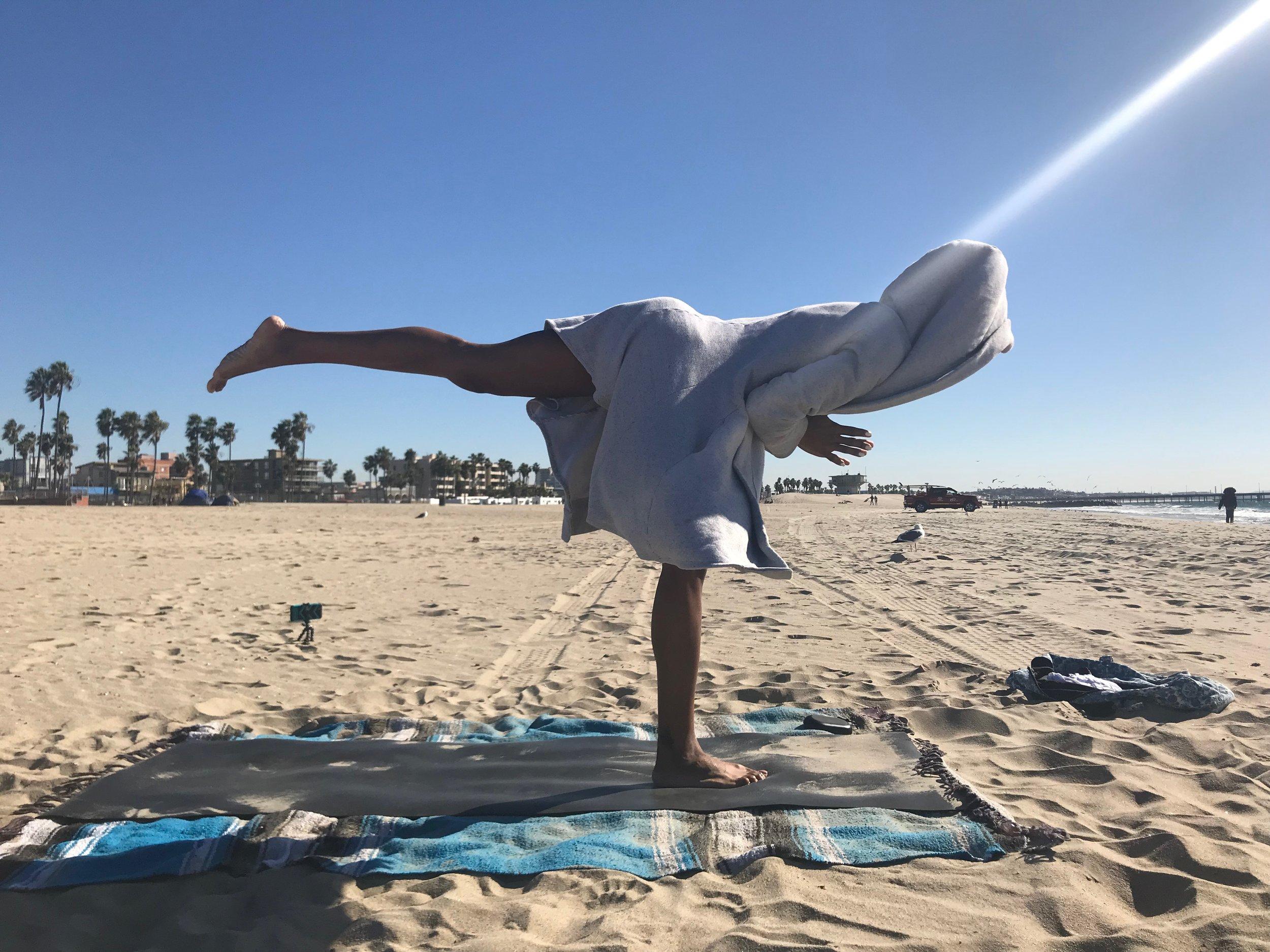 Beach Yoga Testimonial