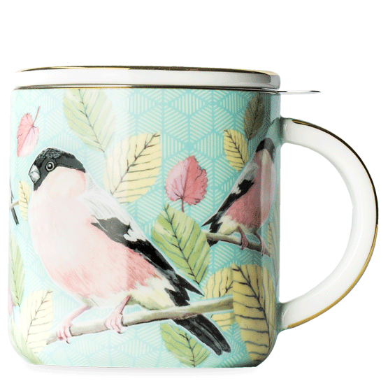 T2 Birds Of A Feather Finch Mug With Infuser $34