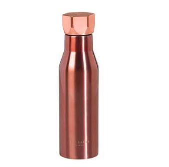 Ted Baker Water Bottle Rose Gold $49.95