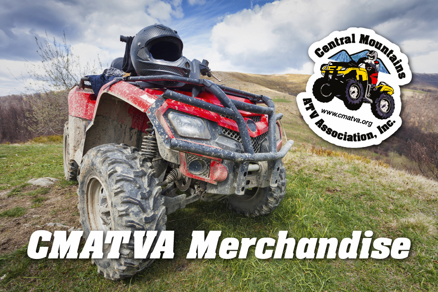 Central Mountains ATV Association - Central Mountains ATV Association merchandise is finally here! Get yours today!