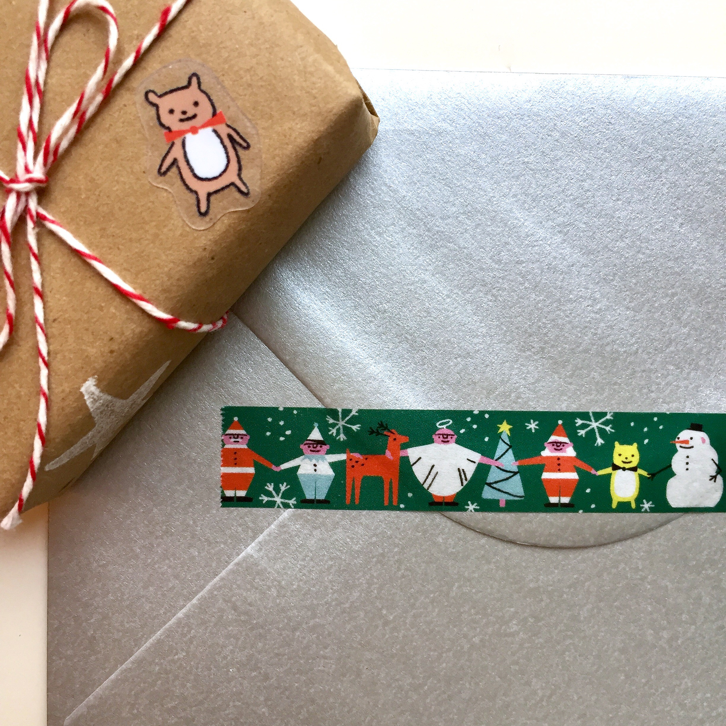 Christmas Washi Tape by Lindsey Balbierz