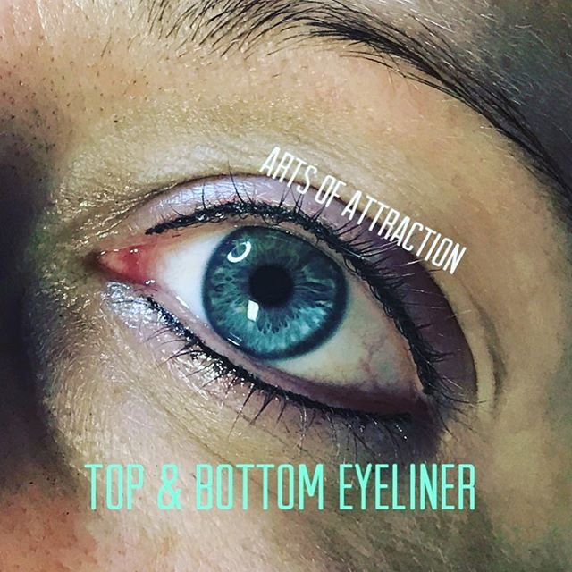 Are you applying eyeliner daily? If so, have you considered doing permanent eyeliner to avoid reapplying constantly, smudging and black eye boogers? Ughh annoying right? Not anymore when you have this!! 😆  Book Appointment Online- www.bookaoa.com ☎️ 727-580-3558 www.artsofattractionllc.com 💌 Info@artsofattractionllc.com
