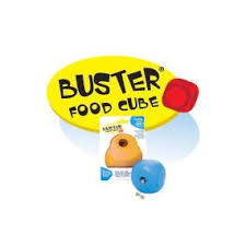 Buster Food Cube allows dogs to work for their food and gain healthy mental and physical stimulation. Easy to load with treats and food. This treat ball is made from safe and durable thermoplastic rubber so any pup can enjoy the fun!