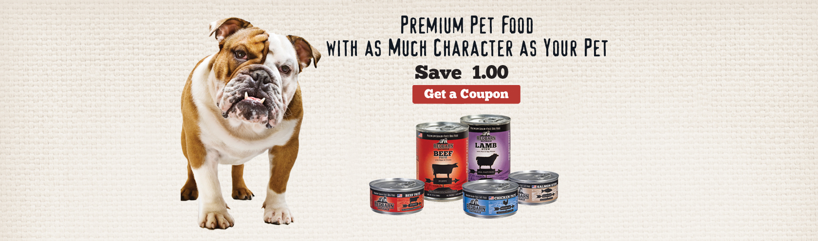 We began Redbarn Pet Products searching for high quality pet food that was actually good for our dogs. Since 1996, we've been providing high quality, innovative pet food and treats at competitive prices. At Redbarn quality is #1. We have strict quality assurance specifications in our factories to ensure the freshest product goes out our doors for your dog or cat to enjoy. Approximately 80% of Redbarn's products are manufactured in our own U.S. factory, located in Great Bend, Kansas. Redbarn's manufacturing plants, at home or abroad, are a reflection of our company and the standards we uphold.