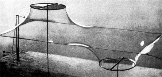 Frei Otto - Soap Bubble Experiments