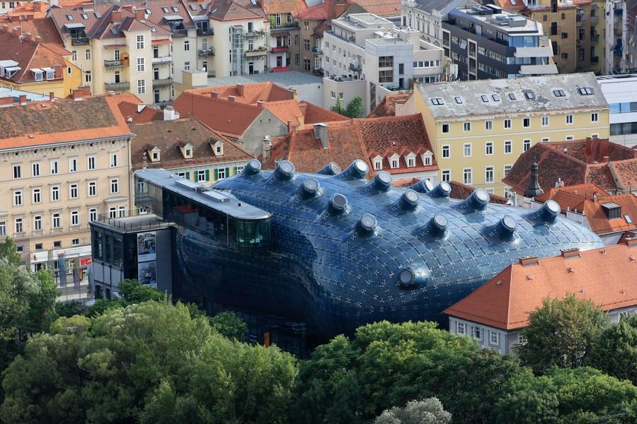 Peter Cook - Kunsthaus Graz Building