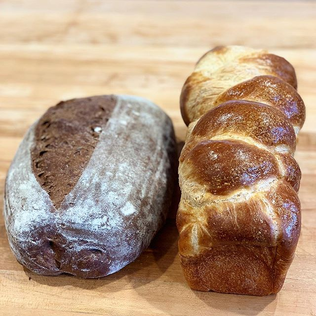 Fresh bread, baked daily in our wood fired oven. Challah or Rye. Call your orders in ahead of time and we'll save you a loaf! Call 205-558-8011.