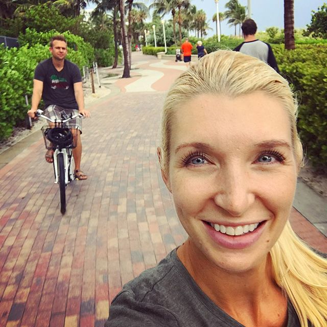 Beach cruising in the half rain, pool party hopping, food touring, storm dodging, night life planning. Sometimes you don't take the kids. 😄🚲🌊🌦#adulting #selfieskills #beachcruising #poolparty #weekendvibes