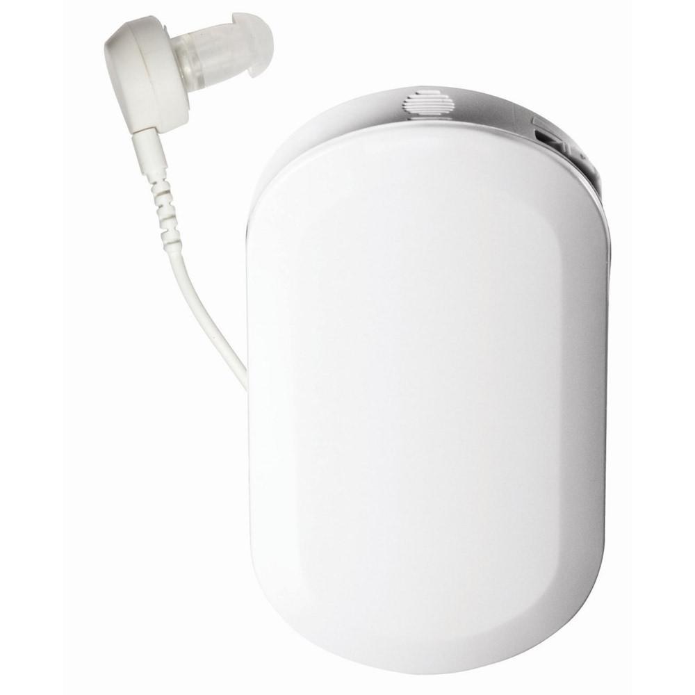 箱型式補聴器 - 44,000円〜62,000円・操作がしやすい・電池が大きく長持ち・対話の会話に適しています・ストラップで首にかける形になります・イヤホンコードや本体が邪魔になる・集音効果が少ない(後ろからの音はひろいにくい)