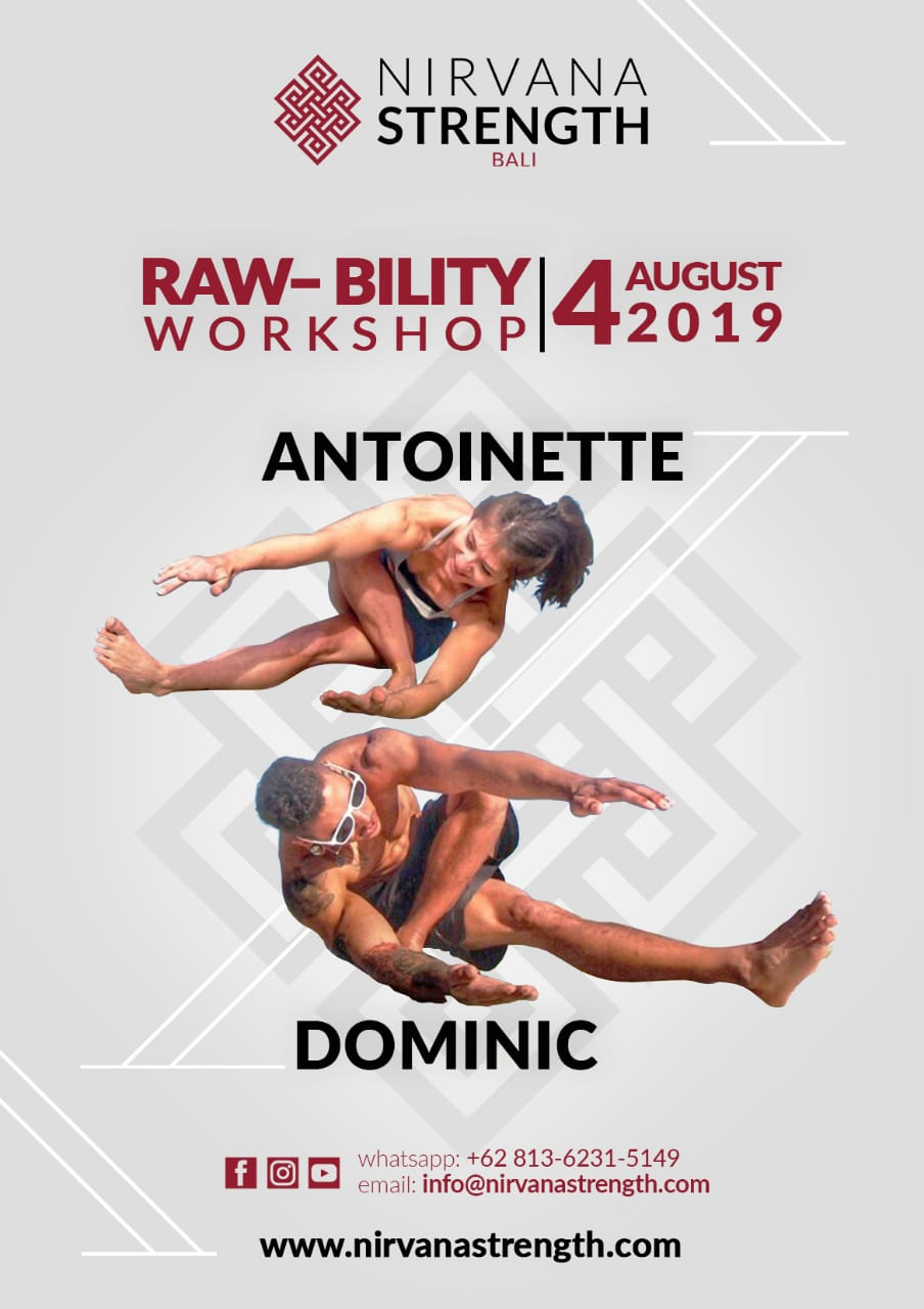 We have the honour of teaching out of Nirvana Strength in Bali this year.