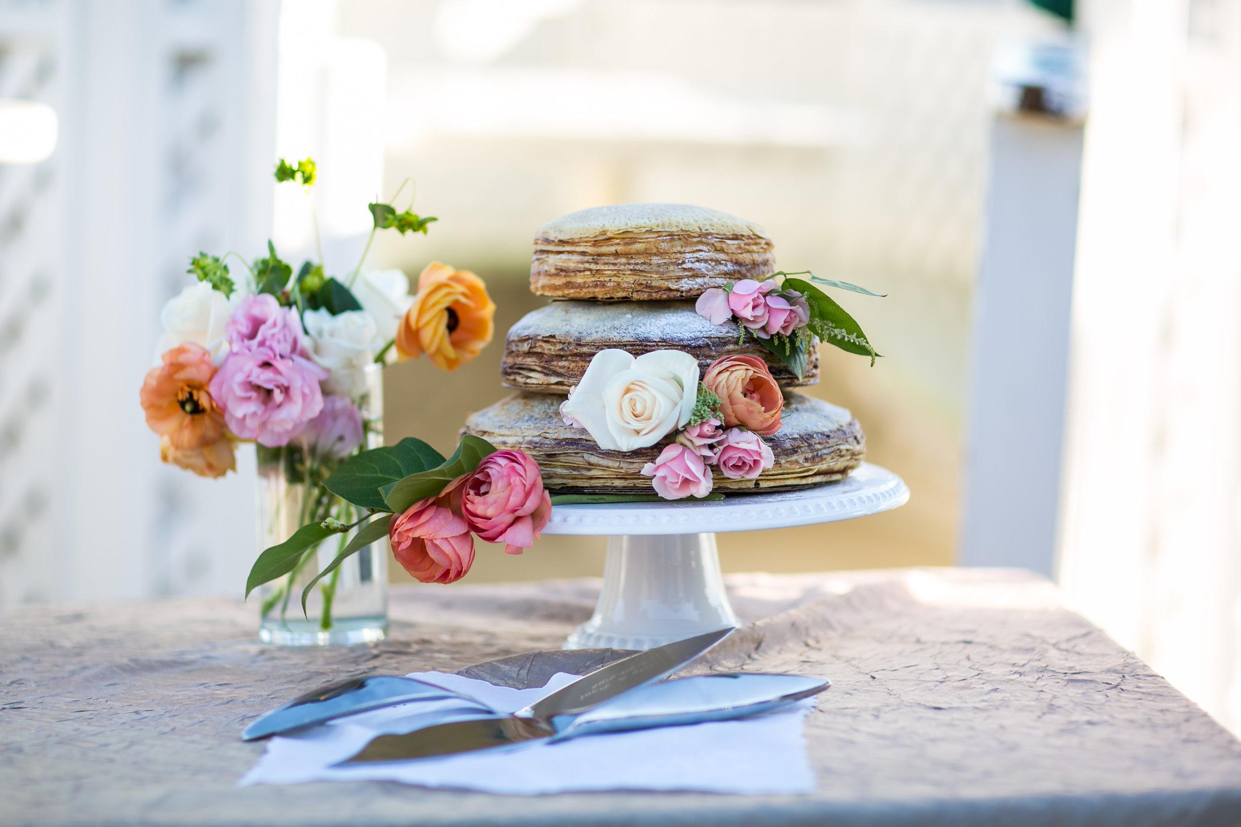 CRÊpe cake menu - a very special dessert, for a very special occasion