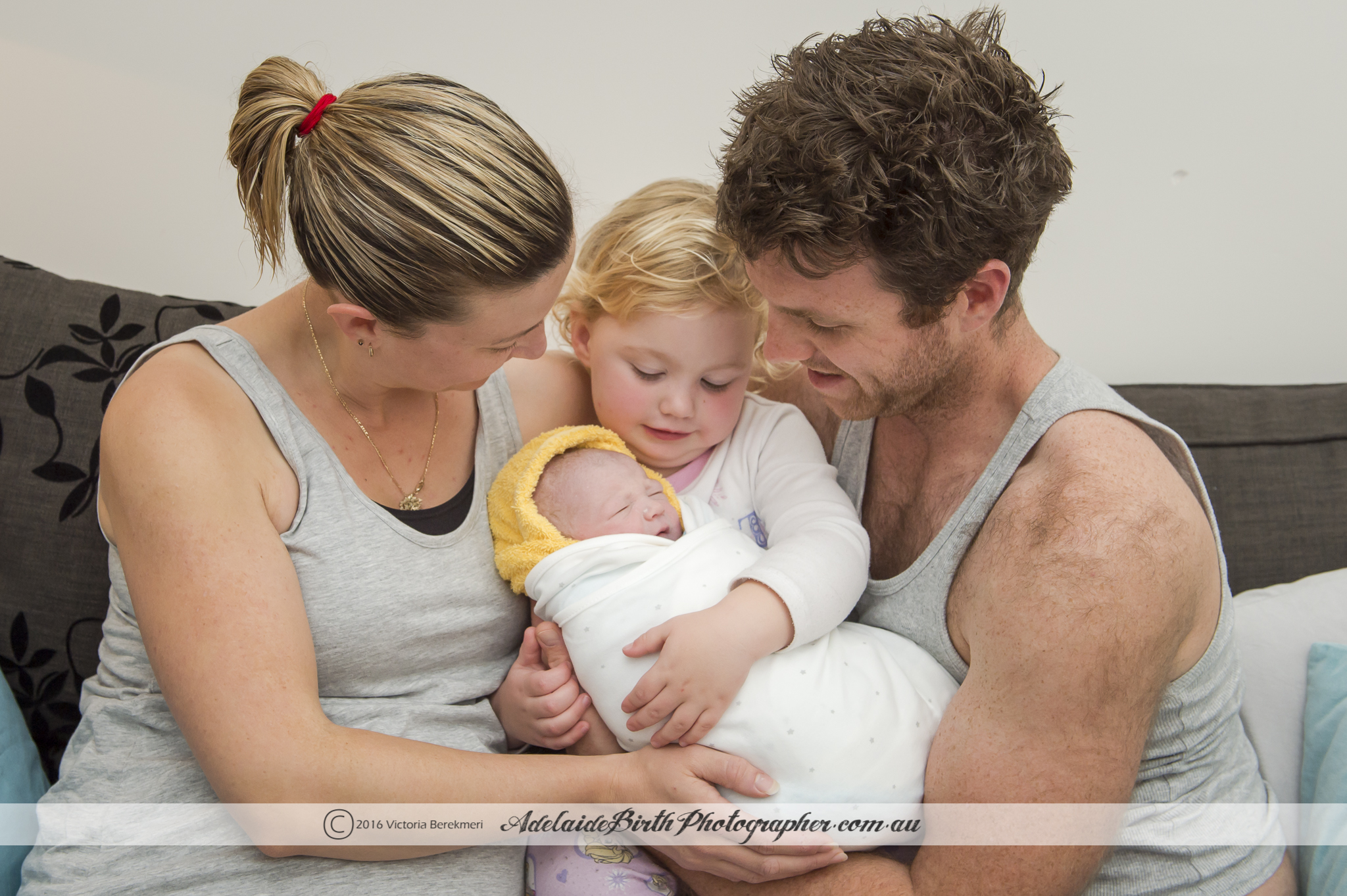 All professional photo credits go to the amazing Victoria Berekmeri from Adelaide Birth Photographer