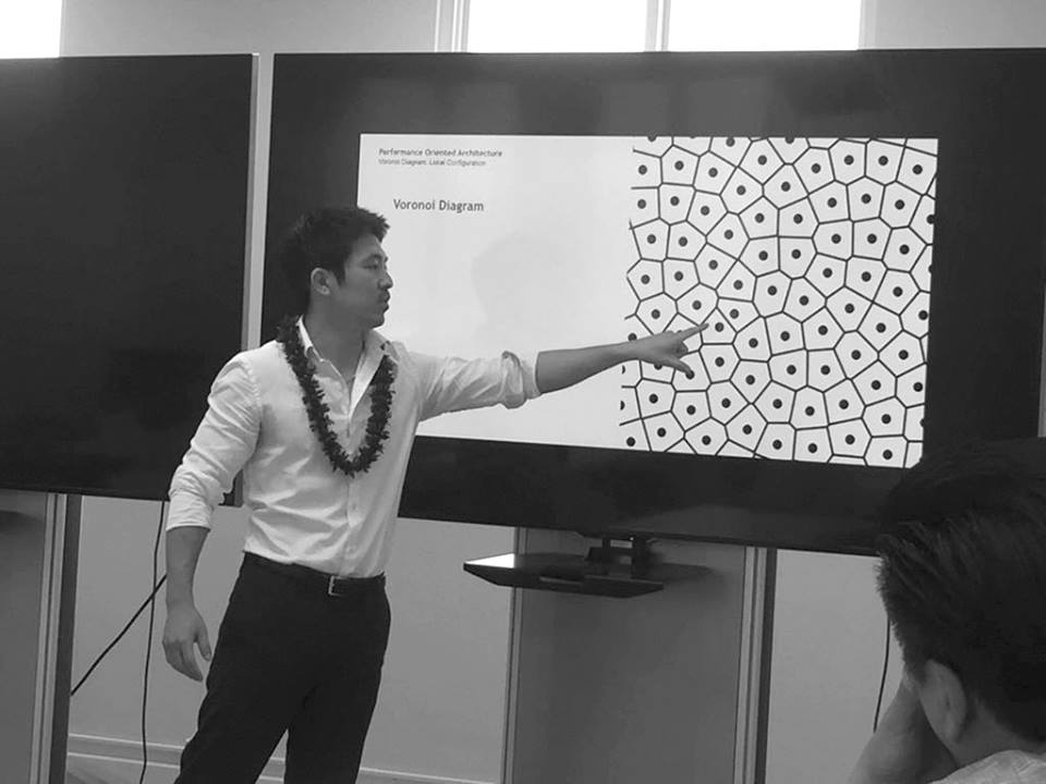 2017 Dec 01 - UH Manoa College of Engineering - ODE founder Kody Kato was invited to share his integrate architecture and structural engineering design process at the University of Hawaii at Manoa College of Engineering.