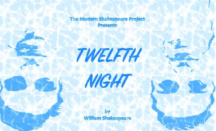 Twelfth Night - August 2015Created by: Modern Shakespeare ProjectFounding Artistic Directer: Brian ScanlanDirected by: Tracy EinsteinPerformed by: Maggie Lalley, Grace Bernardo, Hugo Fowler, Adam Wennick, Theresa Nicholas, Mario Brown