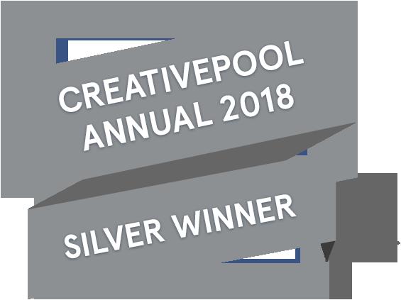 Creativepool 2018 design award flag_silver.png